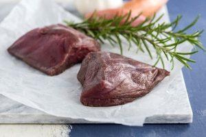 Duin Damhert biefstuk geportioneerd